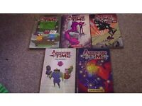 ADVENTURE TIME - 5 Graphic Novels in almost NEW CONDITION - £40 value for only £5!!!
