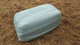 Haylage for sale - good quality, small wrapped bales suitable for horses