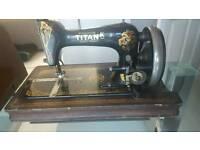 Antique Winselmann titan k hand sewing machine