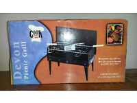 Portable Devon Picnic Grill BBQ - Brand New Unused - Great for Camping, Fishing, Beach, Family Out
