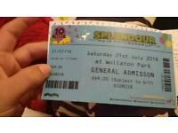 Splendor ticket