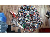 A huge bundle of genuine lego