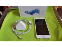 Apple Iphone 6S 16GB SILVER with original box, cable, charger, headphones UNLOCKED, great condition!