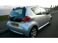 TOYOTA AYGO+ 1.0 vvti-i 5 DOOR***46,000 MILES***F.S.H. 9 SERVICE STAMPS***ONE OWNER FROM NEW***