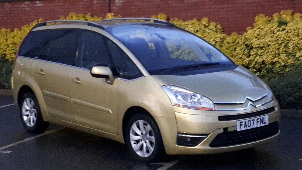 Citroen C4 Grand Picasso 2 0 2007 Exclusive Fully