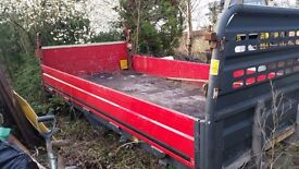 Ford Transit Truck Body with Tailift 14ft/3.5t vgc