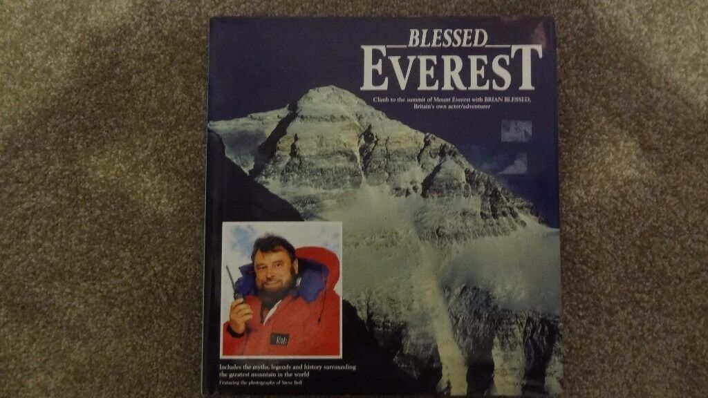 Everest. Blessed. by Brian Blessed