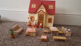 SylviaIan Families Starter Home With Rabbit Family And Added Extras