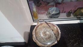 Decorative silver plate