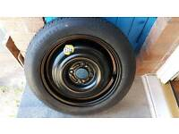 Ford focus space saver spare wheel 15""
