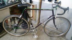 Vélo sport de course bourgogne 12 roues 27po cadre 25po