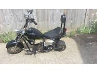 mini moto chopper 50cc