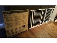 3x Lindam & bettacare baby safety gate £10