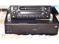 BMW mini head unit and and changer from a mini cooper