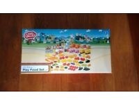 New Chad Valley Play Food Set, 120 pieces, boxed, lots of variety. Great Xmas gift.