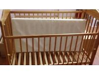 Baby cot for sale , need go ASAP