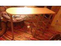 Kitchen storage Bar / Freestanding kitchen worktop / storage - Roath