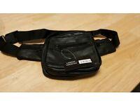 New Lorenz bum bag. Soft black leather