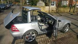 MERCEDES Benz SLK 200 SILVER HARDTOP CONVERTIBLE