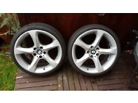 "19"" BMW Alloys with tyres"