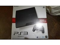 playstation 3 ps3 with games guick sale