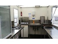 14x7 foot double axle catering trailer