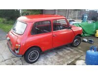 Classic mini A Reg 1000 58k mileage! Genuine!