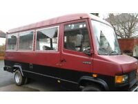 Mercedes 609d motorhome/camper for project or parts