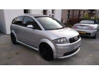 Audi A2 1.4 with Votex body kit