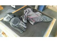 Gloves & balaclava. Immaculate condition
