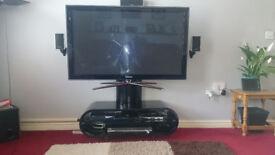 Oval TV Stand (black)
