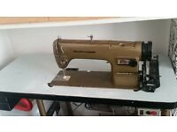 industrial sewing machine for sale. collect only. recently serviced.