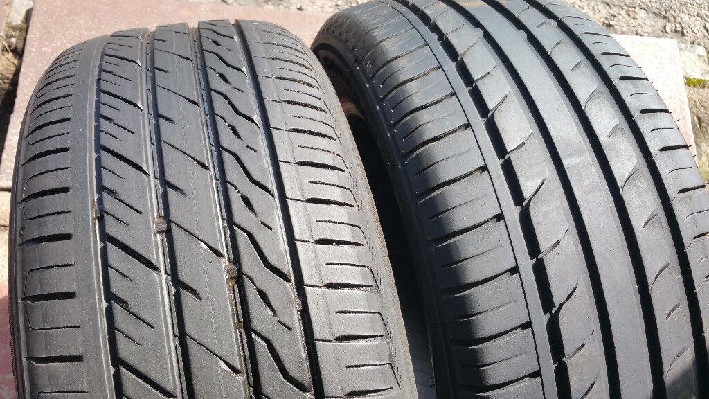215 55 17 2 x tyres Goodride Sport SA-37/Landsail LS588 UHP