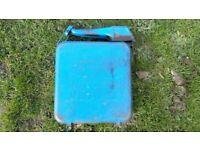 FREE post. vw vintage eversure fillacan petrol can splitty handle camper two gallon 2G van