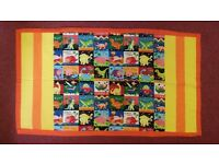 Quilt for child's pram or cot