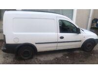 Vauxhall combo van-2005-70k miles
