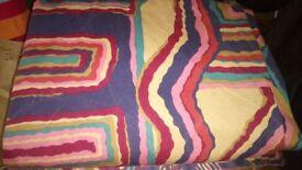 3 jazzy (aboriginal art style) curtains