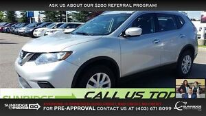 2015 Nissan Rogue LOW KMS, BACK-UP CAMERA, SPORT MODE, AWD, BLUE