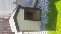 large insulted doghouse,and kennel for sale