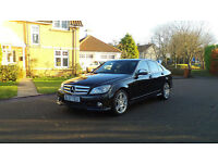 2008 57 MERCEDES-BENZ C CLASS 2.1 C220 CDI SPORT 4d 168 BHP, FINANCE & P/X AVAILABLE