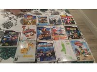 Nintendo wii with 15 games and wii fit board