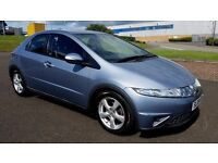 2009 HONDA CIVIC SE I-CTDI ONLY 58.000 MLS HONDA SERVICE HISTORY LEATHER INTERIOR (PART EX WELCOME