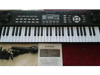 54 key electric Piano keyboard with microphone