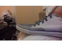 Clakes canvas shoes 5half x also 7