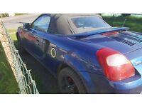Toyota MR2 Dark Blue