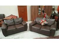 2 x2 seater sofas in fantastic condition can deliver tel 07808222995