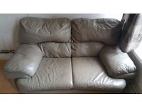 Sofa Two Seater and One chair Free to take away