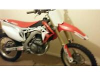 2016 honda crf 250 twin pipe