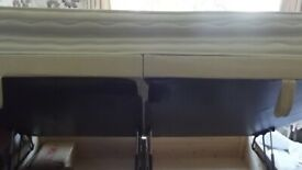 double divan bed with side lift