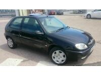 Citroen Saxo 2001 1.1 Desire 12 month mot service history and cambelt done